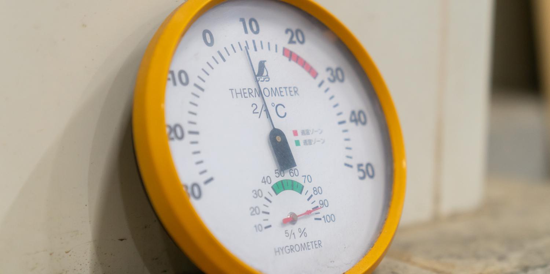 野菜果物の徹底した温度・湿度管理